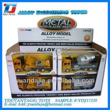 YDJ37220 1:48 pull-back diecast engineering truck,diecast models