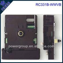 Quartz radio controlled clock movement for America power brand Shaft height 8.0mm cheap price RC331B-WWVB