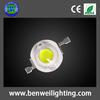 3.5v 130lm 1w led high power supply 6000k bridgelux epistar chips