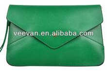 fashionable green pu leather cheap purses and handbags wholesale china