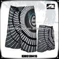 Degli uomini 100% poliestere stampato pantaloncini su misura fabbrica di costumi da bagno di porcellana