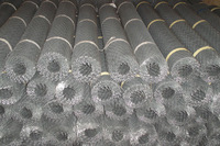 Galvanized steel wire mesh for fencing