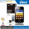 Factory Price For Samsung galaxy young s3610 screen protector oem/odm (Anti-Glare)