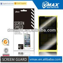 Phone screen protector anti spy for Nokia lumia 920 oem/odm (Privacy)