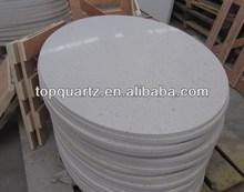 Quartz stone round dining table top