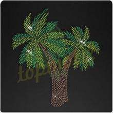Miami Palm Tree Hot fix Motif For 2014 New Design