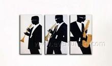 Home Decor Modern Wall Art Musical Instrument Oil Painting