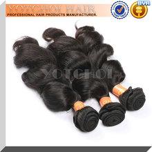 cheap remy hair 18 inch loose wave hair