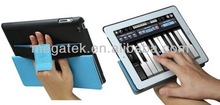 Amplifier + Heat sink smart super slim leather case for ipad 2 3 4, for ipad case leather