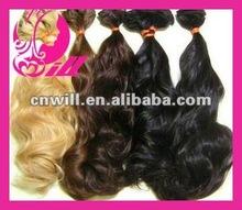Natural Curly Virgin Hair Russia Hair Human Remy Hair Accept Sample Order