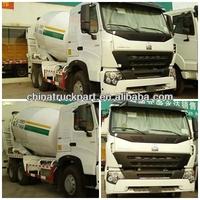 chinese concrete pump truck howo truck drive wheel 6x4