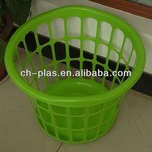 Cute plastic laundry basket
