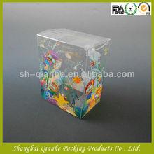 Amusing plastic Box with automatic lock bottom
