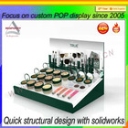 Counter acrylic cosmetic display stand & acrylic cosmetics display stand