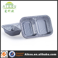 Microwaveable disposable japanese bento box for food packaging