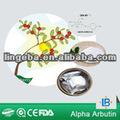para blanquear la piel bleach material arbutina alfa polvo de fermentación natural