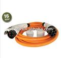 Sae j1772 conector macho hembra de/sae j1772 cargador de piezas de automóviles eléctricos/sae conector de la batería tipo 1