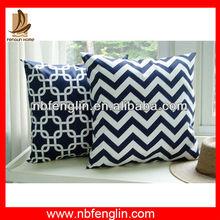 Alibaba China Factory Custom Design Printed Indoor Sofa Cotton Cushion Covers