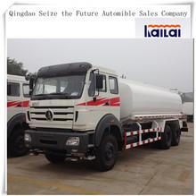 BeiBen/North Benz 6x4 Water Tanker Truck In Low Price Sale /Drinking Water Tanker
