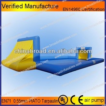 Durable inflatable football field,inflatable water games for adults