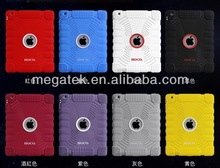shockproof silicon+pc hybrid case for ipad 2 3 4 multi color