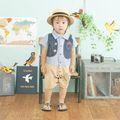 alta qualidade bebê e crianças no japão roupas feitas pela fabricante japonesa