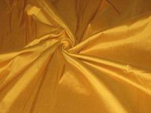 "silk dupioni silk 108""-Turmeric Yellow colour for curtains"