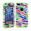 Silicone 'Crazy Horse' cellphone case for iPhone 5G 5S