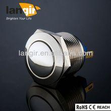 V19-B/1/P/N metal push rhinestone button