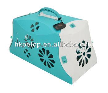 2014 Blue Super Light Weight Pet Dog Carrier