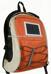 2014 Fashion custom made charger solar bag for outdoor emergency charge