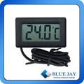 Pequeño termómetro Digital TL8009A LCD Digital de laboratorio termómetro montado en la pared termómetro higrómetro