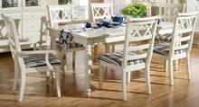 FSC White Color Princess Squre Dining Table