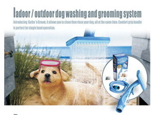 Design most popular pet zoom bath dog grooming with the shampoo