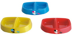 2014 hot selling cartoon dog bowl