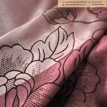velvet drapery fabric made in China