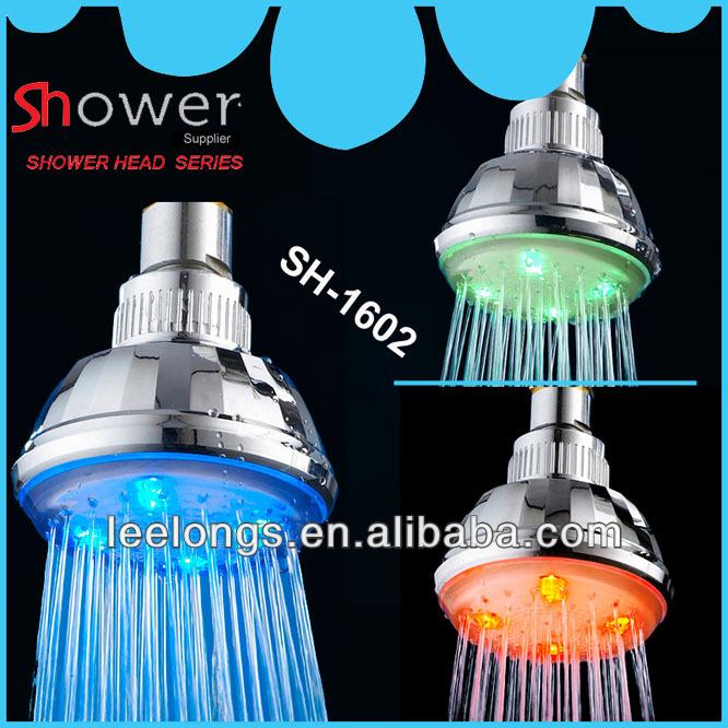 SH-1602 Temperature Control RGB LED Top Shower