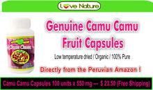 Camu Camu Capsules (7000 mg Vitamin C /100 gr) from Peru