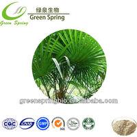 Pure natural saw palmetto extract,saw palmetto berry p.e
