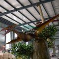 impermeável animatronic dinossauro adulto fantasia de carnaval