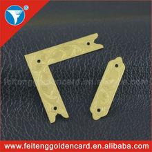 China OEM design custom engraved metal tag maker cheap 2013