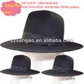 black judeu chapéu dos homens com alta qualidade