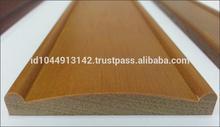 50 mm de madera cenefa