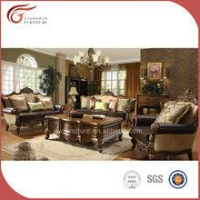 modern design branded leather sofa