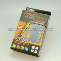 Paper cardboard box for ratchet screworiver bit & socket set