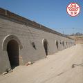 Baoshen brique d'argile hoffman four ( 48 portes ) conception et construction pour les clients