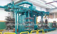 q38 abrator de catenaria de suspensión tipo granallado máquina de limpieza precio