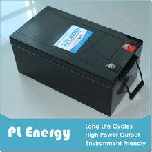 12v 200ah china high quality long life batter pack lifepo4 price
