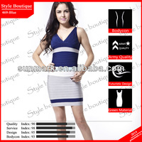 World debut 2015 blue night dress sexy bridal in top design