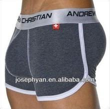 2015 New arrival fashion design factory OEM supply boxer men underwear